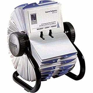 Business card rolodex